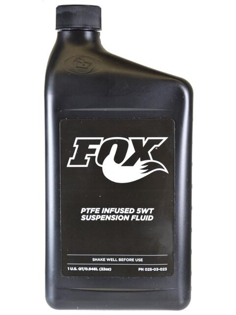 Fox Racing Shox 2017 Oil Suspension Fluid 5 WT, Teflon Infused, 946ml
